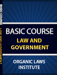 Basic Course Law And Government